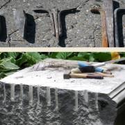 Steinmetztechnik_Spaltwerkzeug